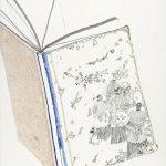 Das Tagewerk eines Papstes, 2015  Oil, pencil and crayon on paper 100 x 70 cm