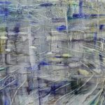 Matthias Meyer, Himuru Pond, 2017, Oil on Canvas, 120 x 180 cm