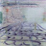Heathrow, 2014, Oil on Canvas, 80 x 80 cm