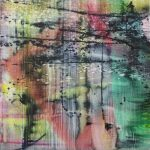 Rombus, 2019, Oil on canvas, 60 x 60 cm