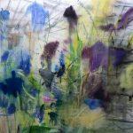 Eisenhut, 2016, Oil on Canvas, 180 x 179 cm