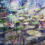 Benson Lake, 2018, Oil on Canvas, 140x140cm