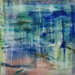 Sichuan, 2018, Oil on Canvas, 110 x 110 cm
