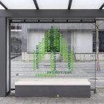Migration und Pflanze, Projekt im öffentlichen Raum, Heilbronn, 2018