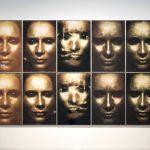 Die Sonne um Mitternacht schauen 196/III, 1973 (gesamter Block), C-Print, Acrylic, Steel, each 190 x 125 cm