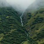 Oetztal, (Wasserfall) Austria, 2012, Ditone Print, 235 x 155 cm (framed), Ed. 6