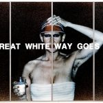 THE GREAT WHITE WAY GOES BLACK, 1977, C-Print, Acrylic,Steel, 300 x 500 cm