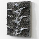 Spiros Hadjidjanos, Aspidium Filixmas, 2017, 3D Alumide Print, 29.8 x 23.8 x 4.8 cm