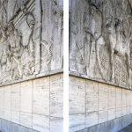 Casa Littoria, Bozen, 2015  Diptychon C-Print, gerahmt jeweils 91 x 72cm Ed. 3 + 1 A.P.
