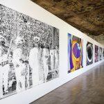 Installation View 'Am Falschen Ort II' Schloss Dachau© Katharina Sieverding, VG Bild-Kunst Bonn 2019 Foto: © Klaus Mettig, VG Bild-Kunst Bonn 2019