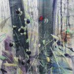 Tollkirschen-2, 2020, Oil on canvas, 140 x 110 cm