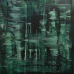 Emerald 2 Lake, 2019, 160x150cm, Oil on Canvas