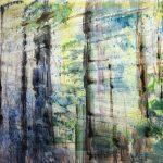 Faskwood, 2018, Oil on canvas, 110 x 140 cm