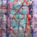 Rug 2, 2020, Oil on canvas, 180 x 120 cm