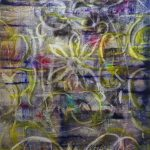 Rug 6, 2020, Oil on canvas, 180 x 120 cm