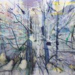 Hecke, 2016, Oil on Canvas, 120 x 180 cm
