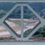 Albertina Bridge, Südafrika, 2001, C-print, museum glas, 157 x 237 cm, framed, Ed. 4