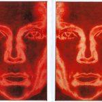 Stauffenberg-Block XV, XVI, 1969-1996, C-Print, Acrylic, Steel Dyptich each 190 x 125 cm