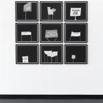 o.T. 1 - 9, 2018, Digital print on Baryta FineArt paper, 45,8 x 51,8 cm, framed, Ed. 2 + 1 A.P.
