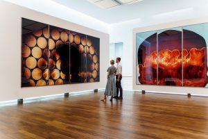 Ausstellungsansicht - Katharina Sieverding Die Sonne um Mitternacht schauen - Museum Frieder Burda (c) Katharina Sieverding/VG Bild-Kunst, Bonn 2021