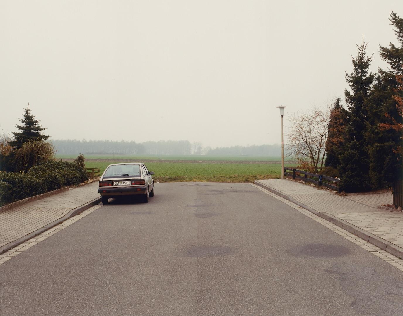 Serie Cloppenburg 1989-1990, C-Print framed, 39 x 44 cm