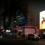 Louisa Clement, Resonating cavity, Video Installation, Times Sqaure New York City