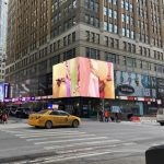 Louisa Clement, Resonating cavity, Video Installation, Times Square New York City